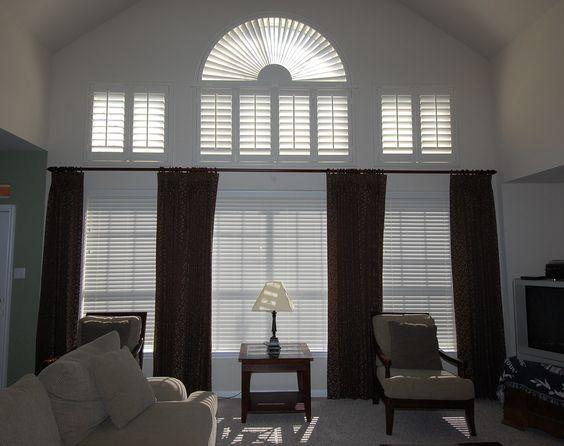 Curtains Ideas curtain ideas for tall windows : drape ideas tall windows | ... window with a rod placed above the ...