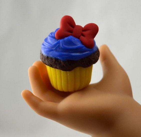 Princess Snow White Cupcake for American Girl Doll Food: