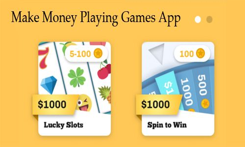 Best apps for making money playing games