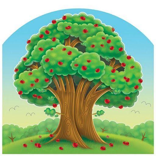 Dibujos De Arboles Con Frutas