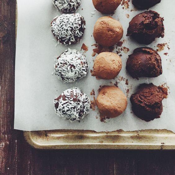 Chocolate truffles, Truffles and Paleo on Pinterest