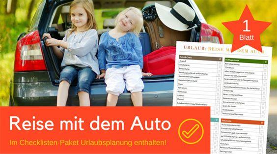 Hilfe, wenn du dein Fahrzeug für den Urlaub vorbereiten möchtest. Bevor es losgeht, sollte ein umfangreicher Technik- und Zubehör-Check durchgeführt werden.