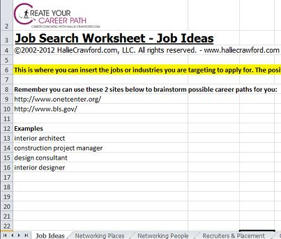 organize your job search free worksheet download from momcorps career planning tips. Black Bedroom Furniture Sets. Home Design Ideas