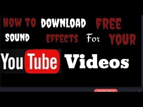 download free sound effects for youtube videos