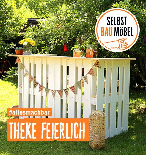 Theke Feierlich Selber Bauen Alle Mobel Create By Obi Bar Aus Paletten Theke Selber Bauen Theke Aus Paletten