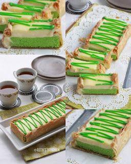 Makuta Pandan Bahan Puff Pastry Cara Lapisi Bagian Dalam Loyang Dengan Puff Pastr Baking Chocolate Recipes Baking Cakes Ideas Baked Dessert Recipes