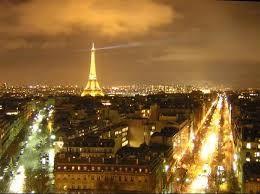 beautiful Paris, France.