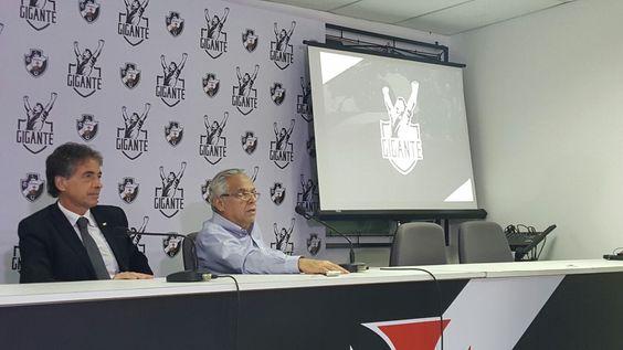 """Vasco lança sócio-torcedor, e Eurico se empolga: """"Será o melhor do Brasil"""" #globoesporte"""