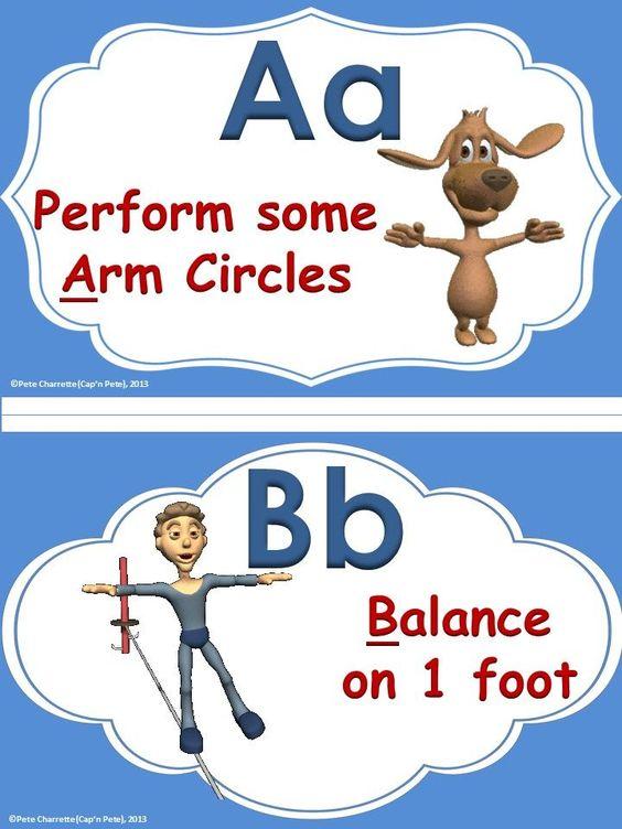 Classroom Energizer Ideas ~ Classroom energizers abc quot energize me