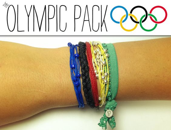 """The BIG GAMES are just around the corner! Make sure you show your Olympic spirit with the Pura Vida """"Olympic Pack""""!"""