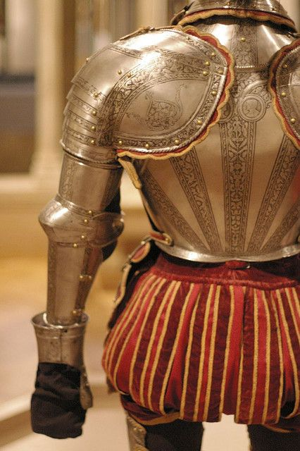 Italy, ~1575.  Composite of two armours.