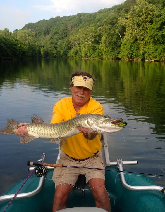 First day rivers and awesome on pinterest for Muskie fishing ohio