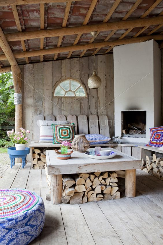 Why have a separate cottage for entertaining.  What a great setting for outdoor living.