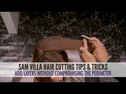 How To Add Layers To Hair Without Compromising The Perimeter | Sam Villa Blog