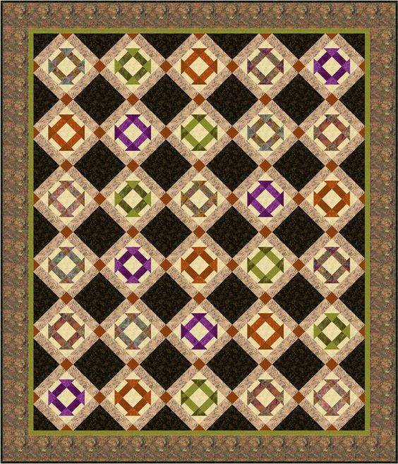 monkey wrench quilt pattern | My dream home | Pinterest | Квилт ... : monkey wrench quilt pattern - Adamdwight.com