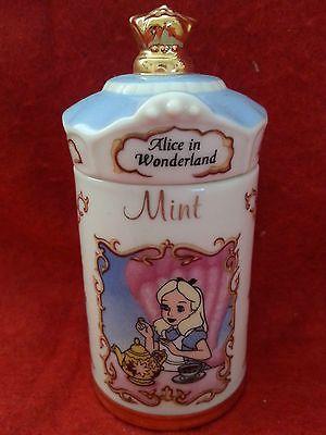 Disney-Spice-Jars-Lenox-1995-Collectible-Thanks-Giving-Christmas-Birthday-Gift