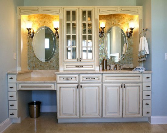 bathroom cabinets with makeup vanity the world s catalog of ideas 11414