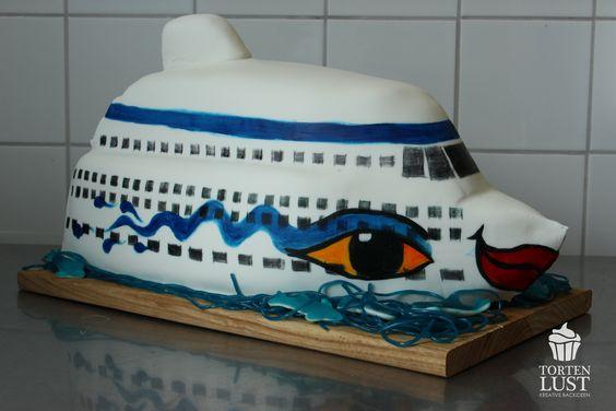 Aida Schiff Torte  http://tortenlust.blogspot.de/