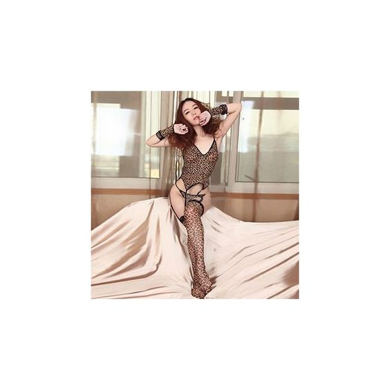 Leopard Lingerie Costume (£9.70) ❤ liked on Polyvore featuring costumes, innerwear, women, leopard cami, leopard print cami, brown cami, womens leopard halloween costume and leopard camisole