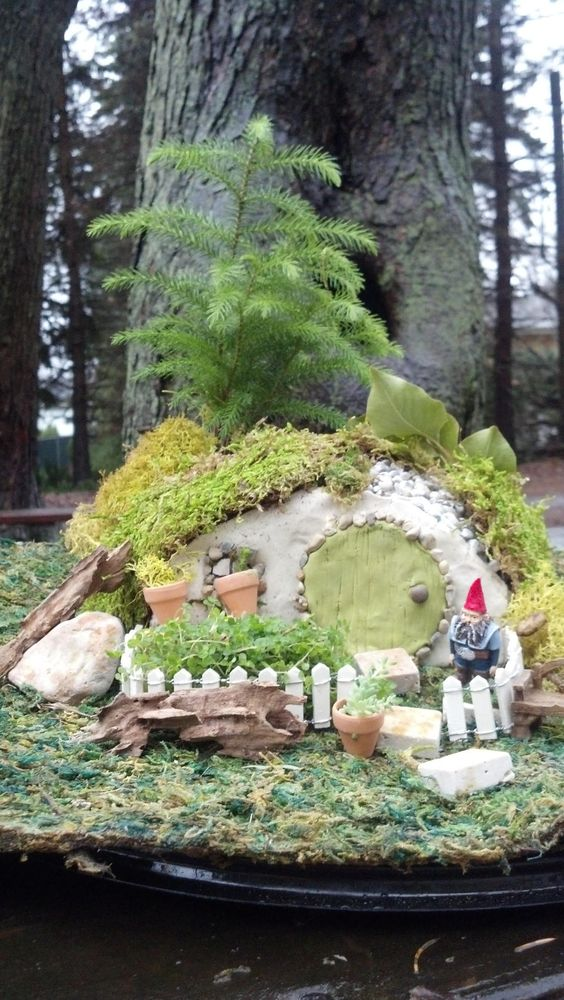 Gnome Home / Hobbit House By The Enchanted Acorn