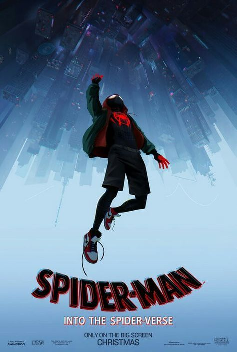 Spiderman Into the Spiderverse movie poster #spiderman #Spiderverse Fantastic Movie posters #SciFi movie posters #Horror movie posters #Action movie posters #Drama movie posters #Fantasy movie posters #Animation movie Posters