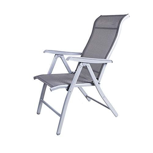 Fh Folding Chair Office Lunch Break Adjustable Recliner Portable Home Balcony Lounge Chair 48 60 110cm Black Gray Op With Images Portable House Folding Chair Chair Style