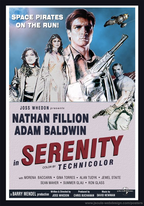 Serenity poster <3