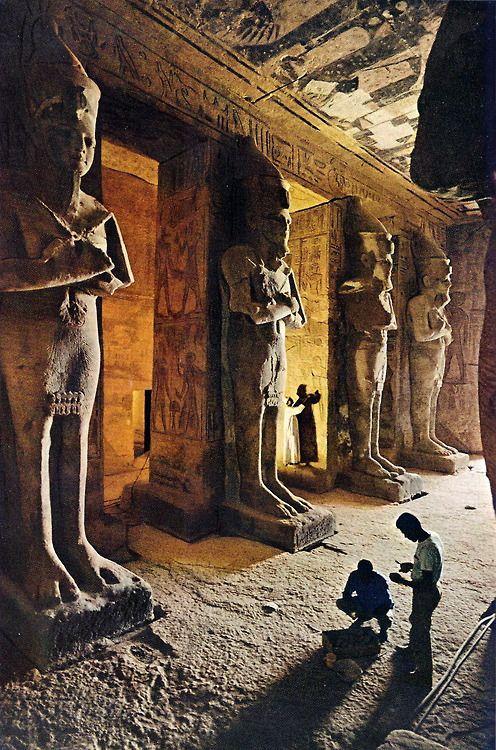 Templos de Abu Simbel, Egipto