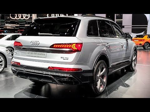 2020 Audi Q7 50 Tdi Exclusive Interior Walkaround Youtube In 2020 Audi Q7 Audi Q7 Interior Audi