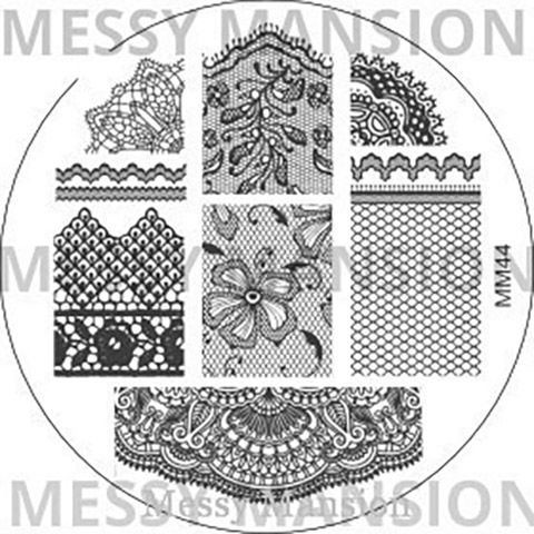 Messy Mansion Image Plate MM44
