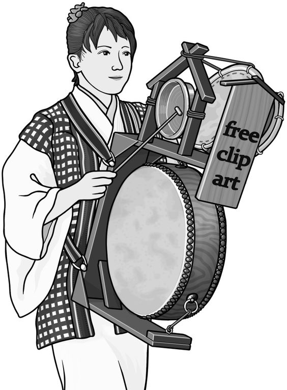[ chingdong drum ] drum / grayscale images