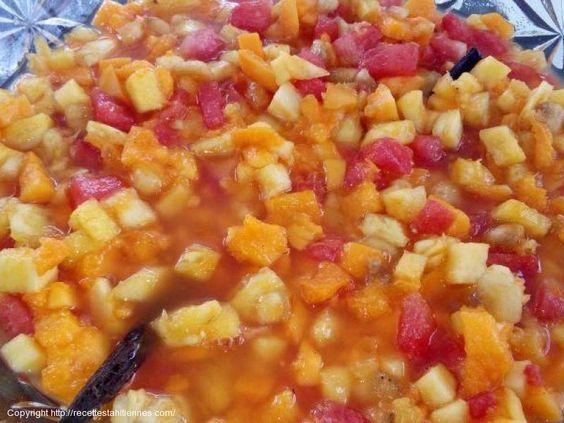 Salade de fruit tahitienne
