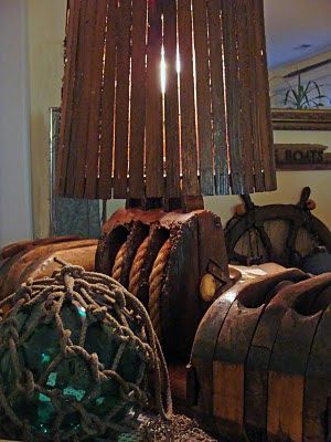 Skipjack's Nautical Living: The Nautical Home- Using Authentic Nautical Decor in a Collector's Home