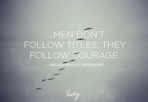 leadership in braveheart essay