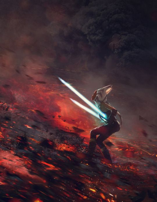 Ahsoka - At the End of All Things - Star Wars fan art by Guillem H. Pongiluppi