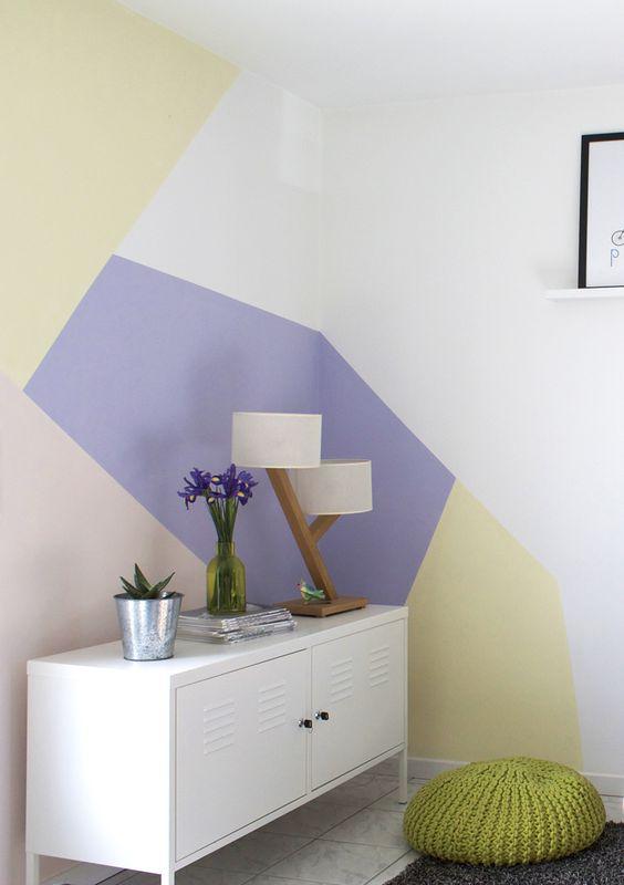 Pastel Wall J 39 Aime Beaucoup L 39 Id E Pour Une Chambre D
