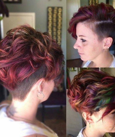 20 Funky Hairstyles For Short Thick Hair Short Hairstyles For Thick Hair Thick Hair Styles Short Curly Haircuts