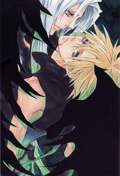 Sephiroth x Cloud yaoi