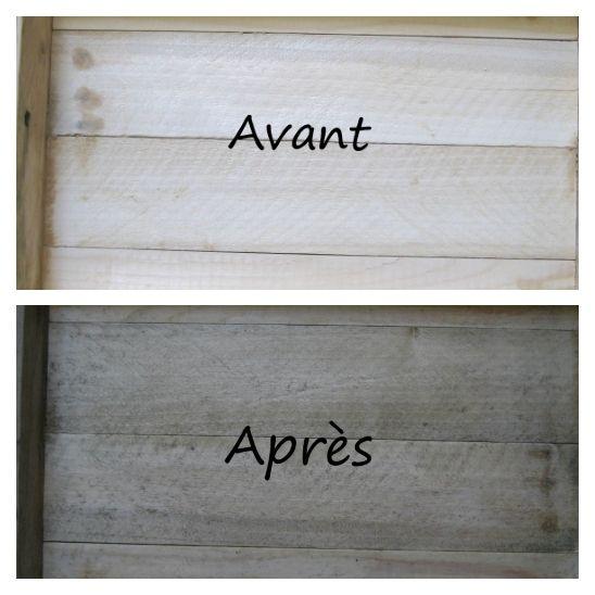 17 Best images about Vieillir patiner le bois on Pinterest Chalk - peinture sur meuble bois