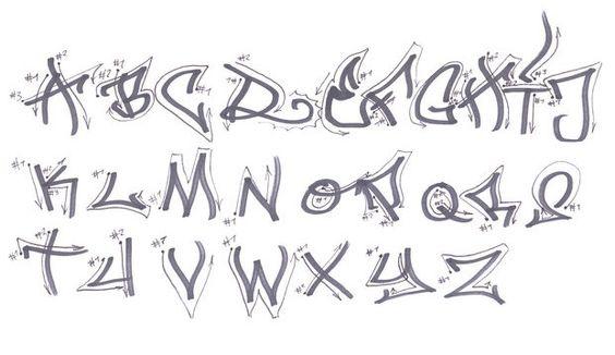 5+ 3D Graffiti Alphabets