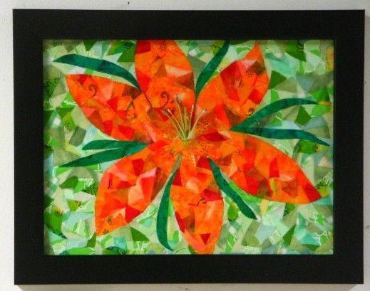 textile confetti mosaic art - Google Search