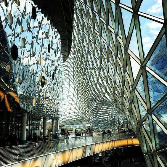 MyZeil in Frankfurt - moderne Architektur