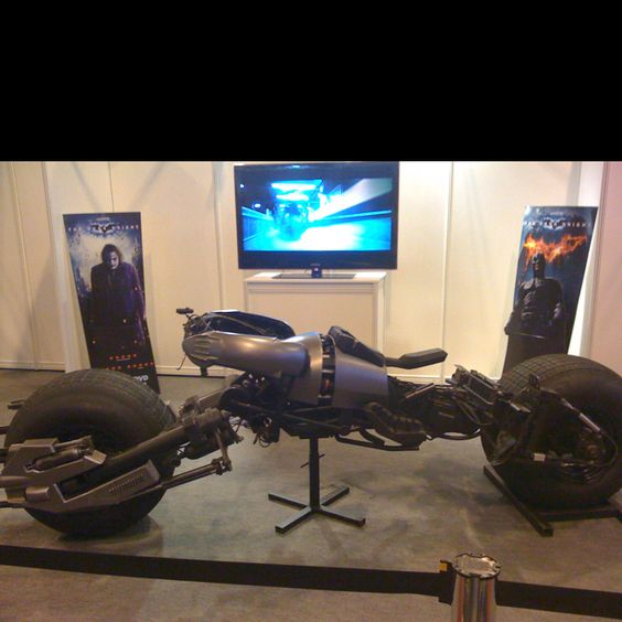 BatBike from the movie Dark Knight!