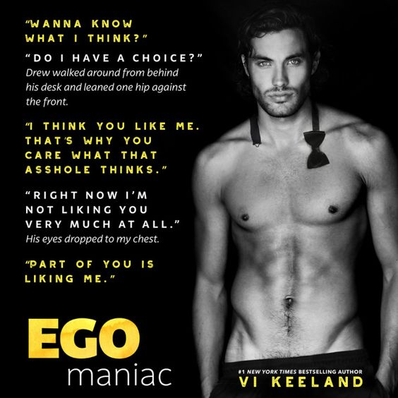 Image result for egomaniac vi keeland