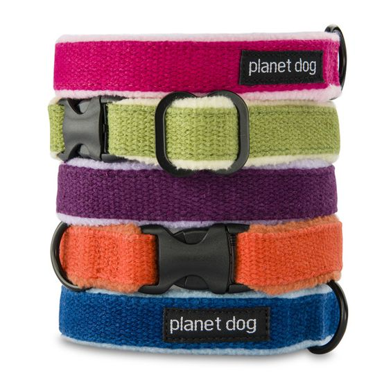 Natural dog collars, leads and harnesses