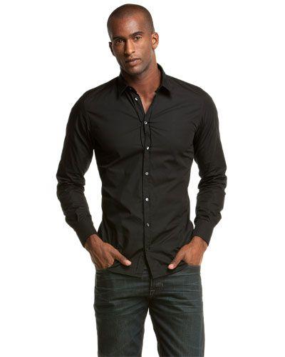 D Men&39s Black Dress Shirt w/jeans | Men&39s Fashion | Pinterest