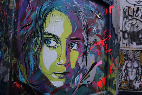 artist C215 by Street Art London, via Flickr