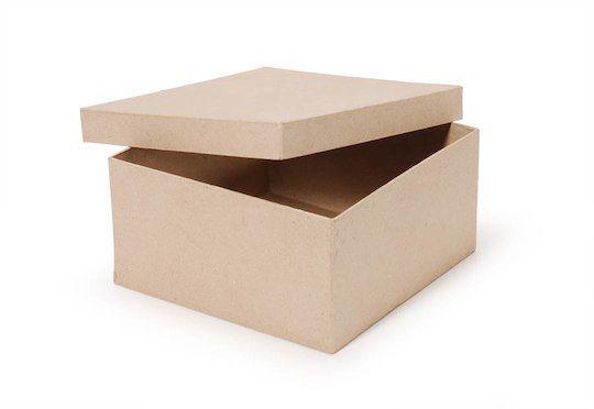 "2/""  Kraft Multi Depth Shipping Corrugated Storage Boxes 25 Pc 8/"" x 6/"" x 4"