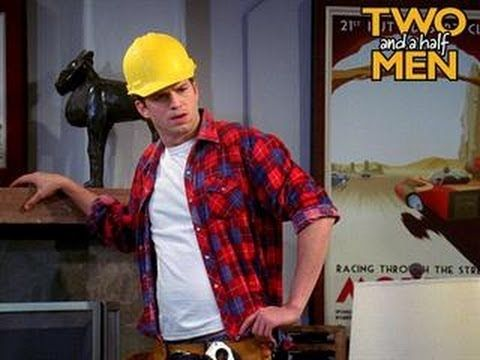 Two And A Half Men - The Manly Man - http://notjustthenews.com/2014/03/06/the-lighter-side/two-and-a-half-men-the-manly-man/