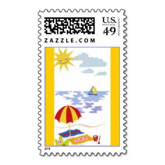 Beach Stamps